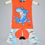 ชุดฉลาม-ส้ม