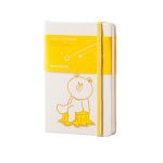 สมุด Moleskine Line Friends - Plain Notebook Pocket (หน้าเปล่า)