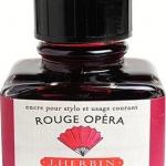 หมึก D Ink 30ml. J.Herbin - สีแดง Rouge Opera 68