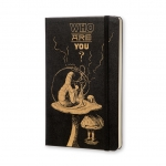 สมุดโน้ต Moleskine Plain Notebook (A5) - Alice in Wonderland (Limited Edition)