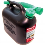 5LTR DIESEL FUEL CONTAINER - BLACK