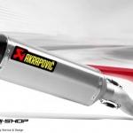 ท่อ Akrapovic Slip on Long Titanium สำหรับ Kawasaki ZX10