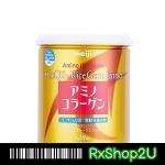 (กระป๋อง สีทอง ฉลากไทย ทานได้ 28วัน) Meiji Amino Collagen Premium เมจิ คอลลาเจน รุ่นพรีเมียม สีทอง เพิ่มเซรามิโดะ + Hyaluron + Q10 + Vit C