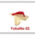 รองเท้าเกี๊ยะเท็นงู รุ่น Yukatta สูง 4.75 นิ้ว