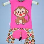 ชุดลิง-ชมพู