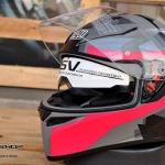 หมวกกันน็อค Agv K3-SV CAMODAZ FUXIA (Asia Spec)