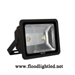 LED Flood Light 100w EVE แสงวอร์มไวท์ (แสงสีส้ม)