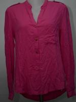 ZARA woman เสื้อเชิ๊ตแขนยาวสีชมพูบานเย็น