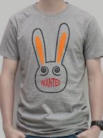 เสื้อยืด : Wanted Rabbit สีเทา