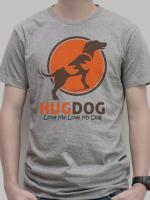 เสื้อยืด : Love Me Love My Dog สีเทา