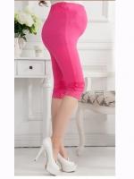 กางเกงเลกกิ้งคนท้อง มี 2 สีชมพู และ สีเทาเข้ม ผ้าใส่สบาย ขาสั้นสามส่วน
