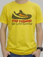เสื้อยืด Running สีเหลือง