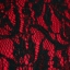 LOLITA ชุดเดรสสั้น แขนกุด งานผ้าลูกไม้อัดทับผ้ายืด ลายลูกไม้ สีดำแดง มีซิบหลัง ซับใน thumbnail 9