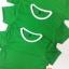ขายส่ง ไซส์ M เสื้อกีฬาสีเด็ก เสื้อกีฬาเปล่าเด็ก เสื้อกีฬาสีอนุบาล สีเขียว thumbnail 3