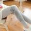 เลกกิ้งคนท้องแบบน่ารัก สไตล์เกาหลี ส่วนขาเย็บติดกับผ้าลูกไม้สามารถปรับระดับช่วงเอวได้ thumbnail 6