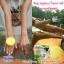 สบู่ จินซู เมือกหอยทากฟองยืด GinZhu Body Whitening mask soap พอกผิวขาว เพิ่มความขาว 10 ระดับ กล่องสีเหลือง ก้อนเหลือง thumbnail 6