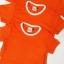 ขายส่ง ไซส์ M เสื้อกีฬาสีเด็ก เสื้อกีฬาเปล่าเด็ก เสื้อกีฬาสีอนุบาล สีส้ม thumbnail 4