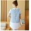 เสื้อคลุมท้อง สีฟ้า thumbnail 6