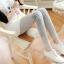 เลกกิ้งคนท้องแบบน่ารัก สไตล์เกาหลี ส่วนขาเย็บติดกับผ้าลูกไม้สามารถปรับระดับช่วงเอวได้ thumbnail 7