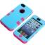 เคสไอโฟน 5c เคสซิลิโคน+พลาสติก สีสันสวยงาม thumbnail 3