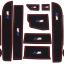 Slot Mat แผ่นยางรองในช่องรถยนต์ BMW 5 series 2014 thumbnail 2