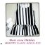 mini dress แขนกุด ผ้ายืดพิมพ์ลาย แต่งระบายชายกระโปรง อก-เอว34 สพ36 ยาว29 thumbnail 1