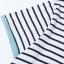เสื้อคลุมท้อง ลายขวางสีขาว-ดำ คอกลม แขนสั้น เนื้อผ้าคอตตอน thumbnail 6