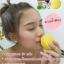 สบู่ จินซู เมือกหอยทากฟองยืด GinZhu Body Whitening mask soap พอกผิวขาว เพิ่มความขาว 10 ระดับ กล่องสีเหลือง ก้อนเหลือง thumbnail 17