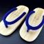 SUGOI-03 รองเท้าเกี๊ยะไม้ธรรมชาติเชือกน้ำเงิน thumbnail 1