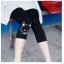 กางเกงเลกกิ้งคนท้อง ลายการ์ตูนน้องหมา ผ้าใส่สบาย ขาสามส่วน แบบน่ารักค่ะ thumbnail 4