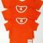 ขายส่ง ไซส์ M เสื้อกีฬาสีเด็ก เสื้อกีฬาเปล่าเด็ก เสื้อกีฬาสีอนุบาล สีส้ม thumbnail 3