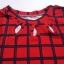 DRESS ไซส์อวบ อก 42 เดรส ผ้าผ้าทอหนังไก่ เนื้อผ้ายืดหยุ่นดี อก42 - 46 ยาว 33 thumbnail 3