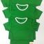 ขายส่ง ไซส์ M เสื้อกีฬาสีเด็ก เสื้อกีฬาเปล่าเด็ก เสื้อกีฬาสีอนุบาล สีเขียว thumbnail 4
