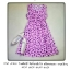 midi dress สีชมพู ไหมอิตาลี่ พิมพ์ลายหัวใจ สม็อครอบเอว งานน่ารักๆ อก34 เอว36 สพ.40 ยาว34 thumbnail 3