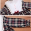 เสื้อคลุมท้อง ลายสก๊อตแดง thumbnail 3