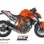 ท่อSC Project CR-T SILENCER WITH DE-KAT PIPE FOR KTM 1290 SUPER DUKE R thumbnail 2