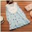 เสื้อคลุมท้อง สีฟ้าลายการ์ตูน thumbnail 1
