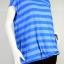 GEORGE เสื้อยืดลายทางสีฟ้า-สีเงิน thumbnail 1