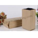 [สินค้าตัวอย่าง]ถุงออแกนกระดาษคราฟท์ ด้านในฟอยล์ ขนาด 7x13 + ขยายข้าง 3 ซม. 1ใบ