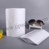ถุงกระดาษสีขาวเคลือบด้าน ซิปล็อค ตั้งได้ ทึบ 10x15 cm