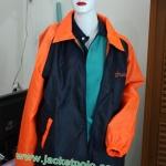 เสื้อแจ็คเก็ตตัดต่อ ทำ2สี