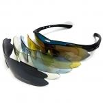 แว่นตาจักรยาน TORE (clip lens สายตา + เลนส์ 5 สี)
