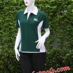 เสื้อยืดคอปกuniformสำหรับสุภาพสตรี