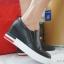 """รองเท้าสไตล์เกาหลี Black Heel 2.5"""" Size 37"""