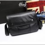 กระเป๋าสะพายข้าง หนัง PU สีดำ | LT31