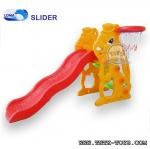 สไลเดอร์หน้ากระต่าย+แป้นบาส