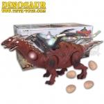 ไดโนเสาร์ 2 หัว มีปีก ออกไข่ เดินได้มีเสียงมีไฟ ราคา 390 บาท ฟรีค่าจัดส่ง