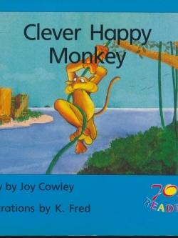 Clever Happy Monkey นิทานภาพภาษาอังกฤษ