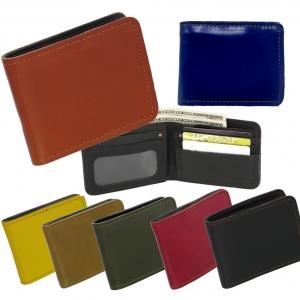 กระเป๋าสตางค์ ผู้ชาย กระเป๋าใส่บัตร ผลิตจากหนังวัวแท้ โทนสีประจำวันเกิด เหมาะที่จะซื้อเป็นของขวัญให้คนที่คุณรัก