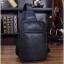 กระเป๋าสะพายไหล่ หนัง PU สีดำ | LT19 thumbnail 4